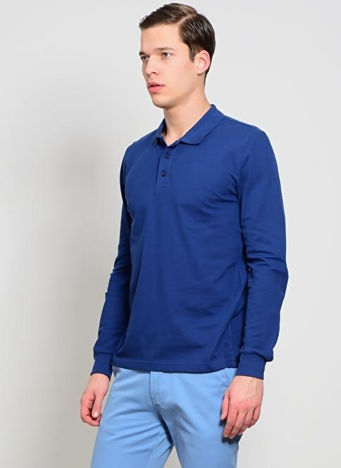 Limon Company Polo Yaka Tişört İndigo